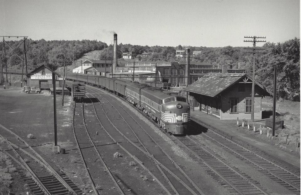 Jamesville Yard 1956